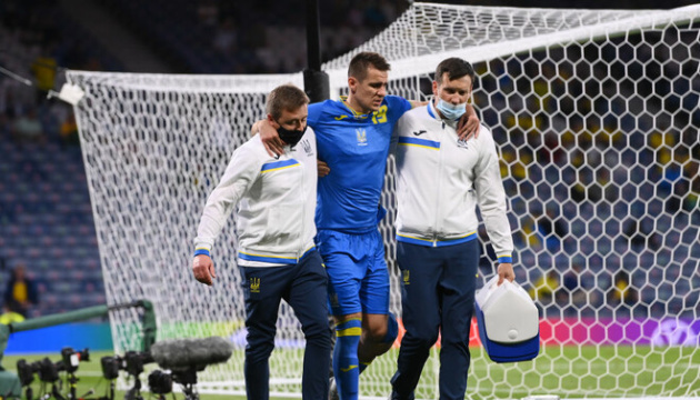 Травмований Бесєдін залишає збірну і їде на обстеження в Київ