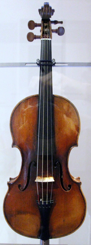 """скрипка роботи Ґварнері - """"Il Cannone Guarnerius"""", 1743 р."""