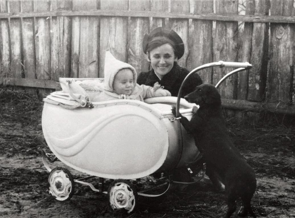 Богодар із мамою Іриною