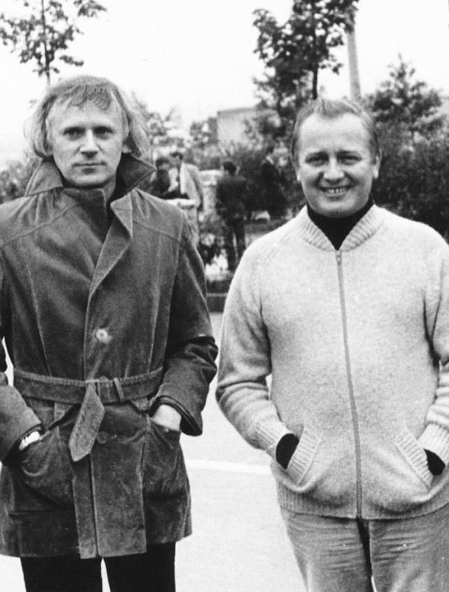 Богодар Которович із Стафаном Турчаном на гастролях у Німеччині