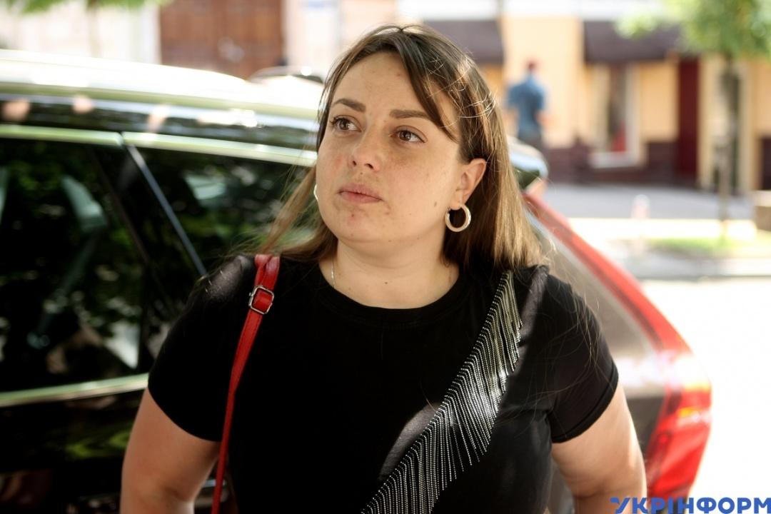 Заступниця начальника Інспекції з паркування Аліна Ярош