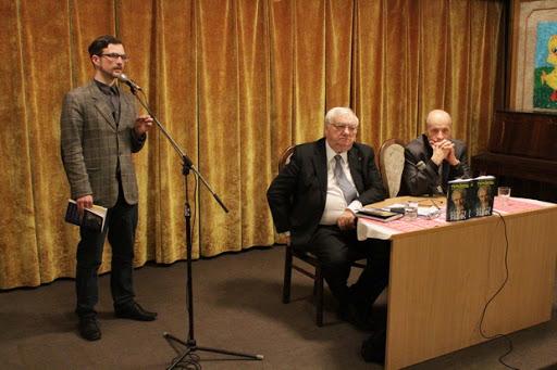 Презентація книги про Петра Яцика в Музеї літератури