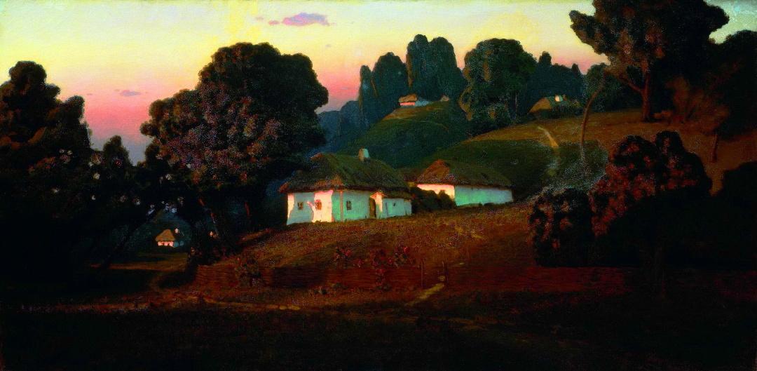 Вечір в Україні, 1878 р.