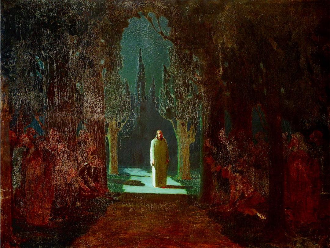 Христос у Гефсиманському саду, 1901 р.