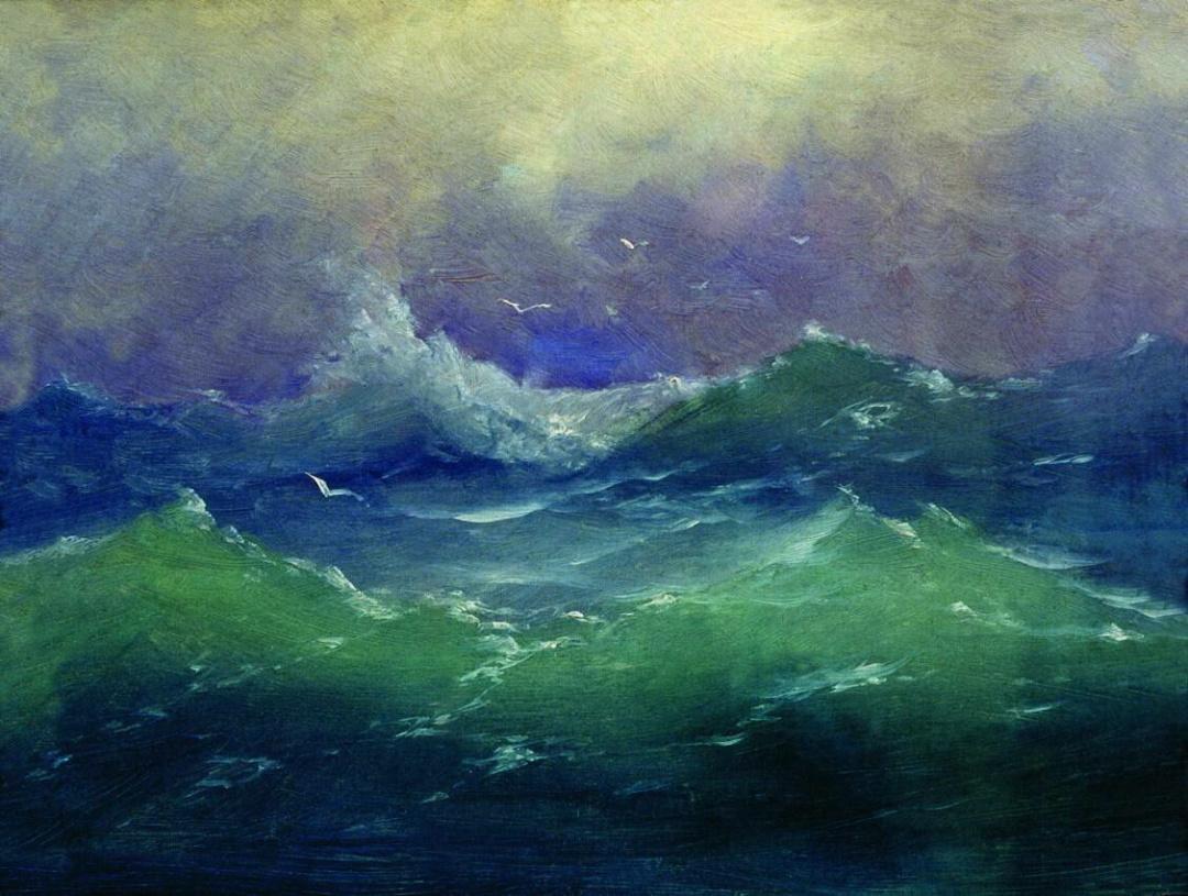 Хвилі, етюд, 1860-ті рр.