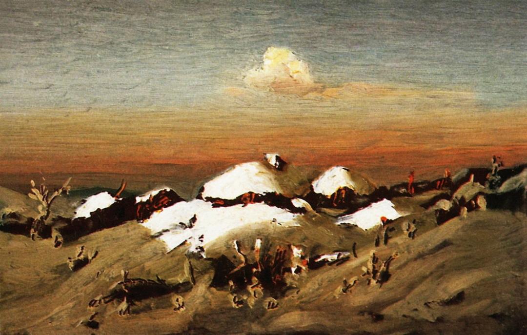 Зима, 1890-ті рр.