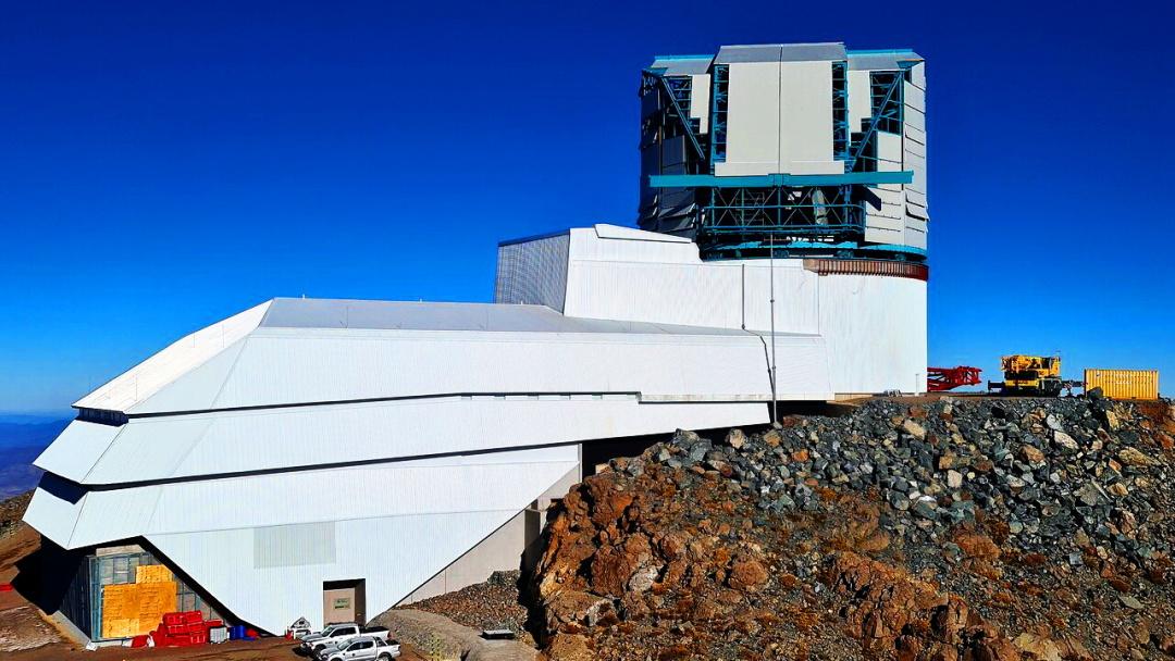 обсерваторія імені Віри Рубін на горі Серро-Пачон, Чилі