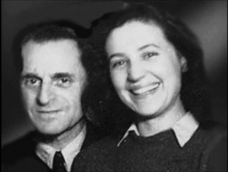 Петро Лещенко з дружиною Вірою Білоусовою 1
