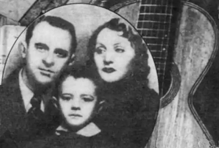 Петро Лещенко, перша дружина Жені Закітт та син Ігор