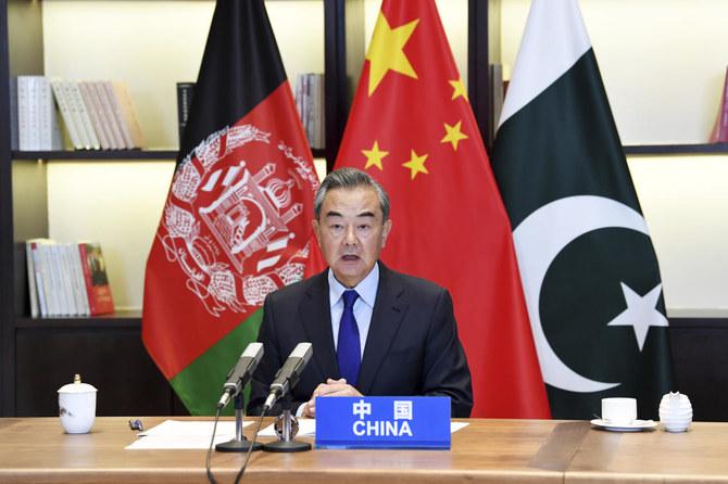 Китайський міністр закордонних справ Ван Йі головує на 4-й зустрічі голів МЗС Китаю, Афганістану та Пакиствану в червні ц.р.