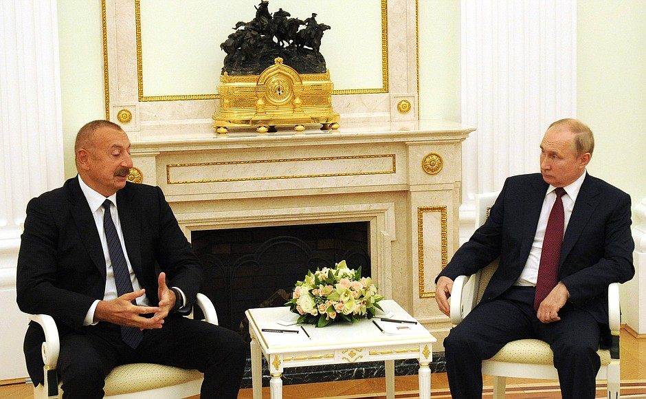 Ильхам Алиев и Путин / Фото: kremlin.ru