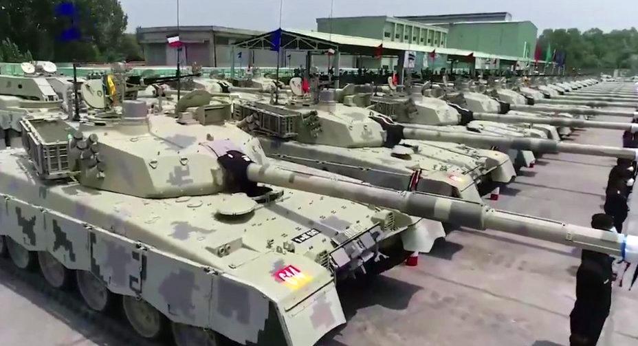 Пакистан танк Al-Khalid Фото: defence-ua.com