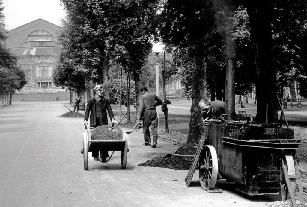 Підготовка до першого повоєнного фестивалю, 1951 рік