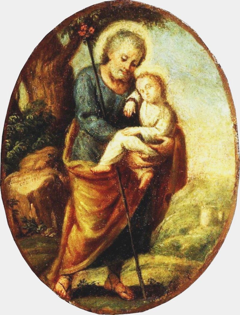4-Йосип з немовлям Христом, 1791 р. А