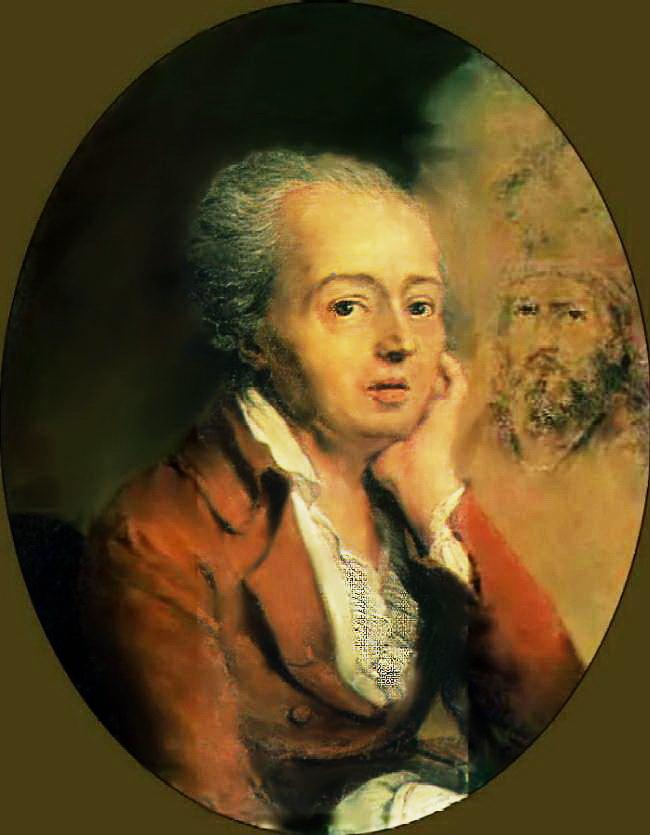 6-портрет художника Дмитра Левицького, 1796 г.