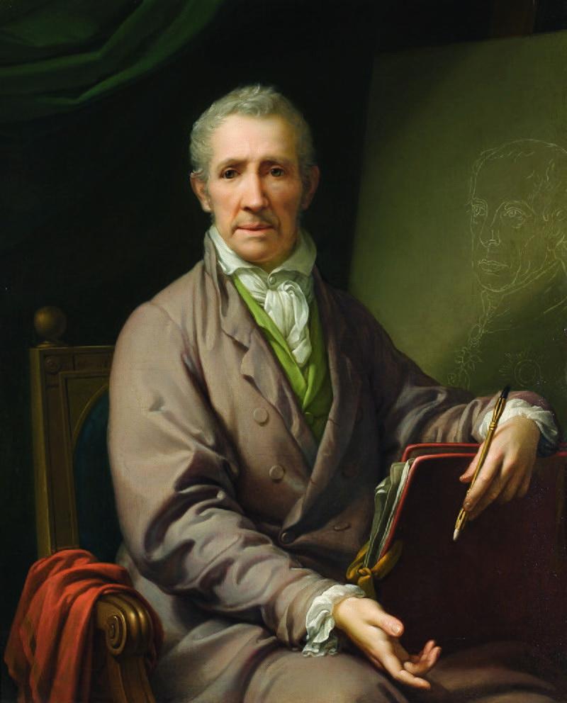 9-Автопортрет у віці 76 років,  робота придвірного маляра Йоґанна Баптиста фон Лампі-старшого, Відень, 1828 р._ 1