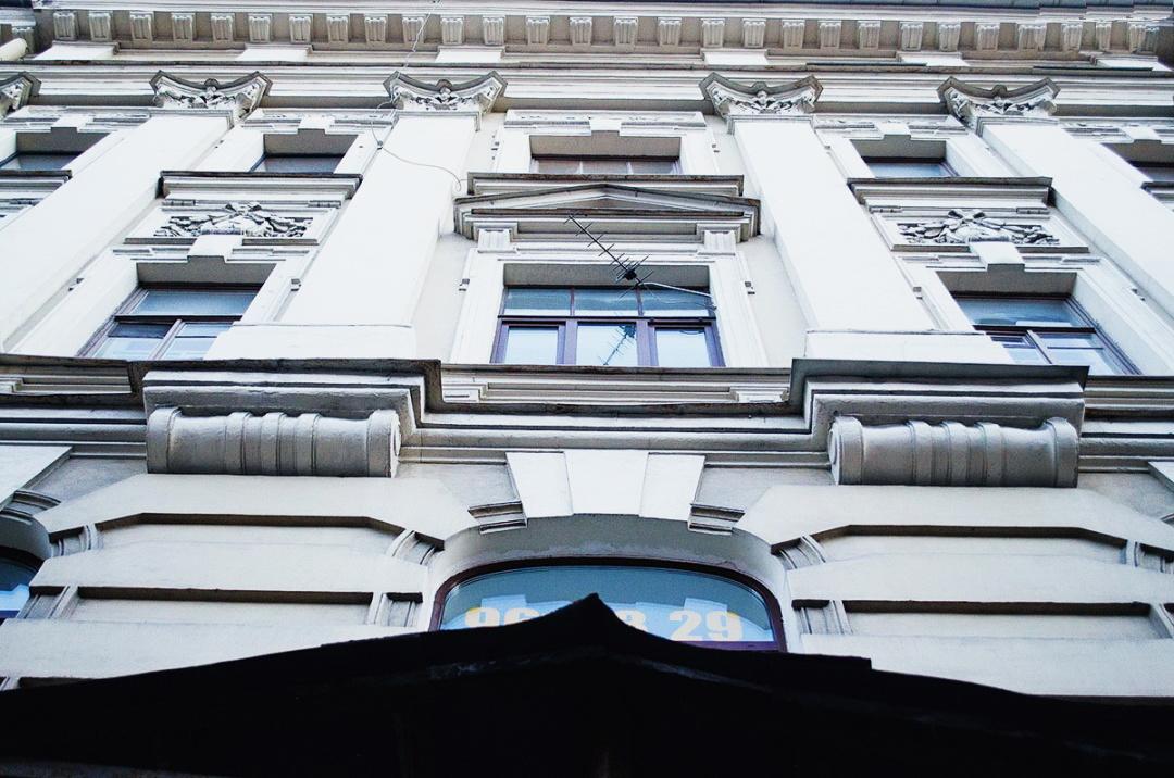 11-будинок на вулиці Великій Мільйонній, 12, у Санкт-Петербурзі, де мешкав Володимир Боровиковський