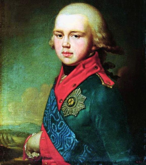 16-портрет Великого князя Костянтина Павловича, 1795 р. 1