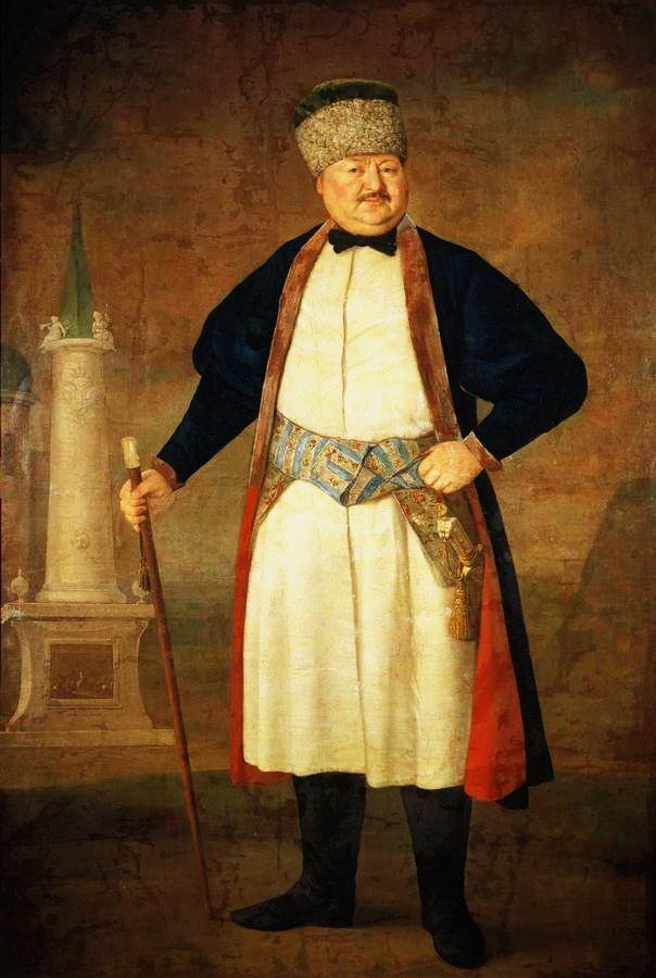 6А-бургомістр магістрату м. Полтава, полковник Павло Якович Руденко, 1778 р.
