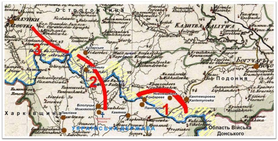 Дислокація Запорозького корпусу на російському кордоні