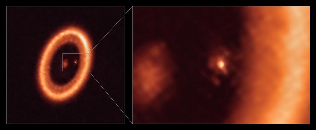 Астрономи побачили пиловий диск навколо екзопланети (ФОТО)