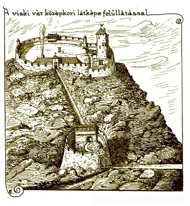 Вишково, Вишківський замок, місцевий буркут, різьблені воріта, Закарпаття