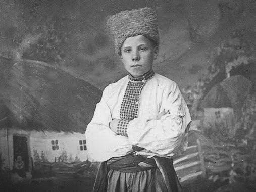 Борис Гмиря у дитинстві