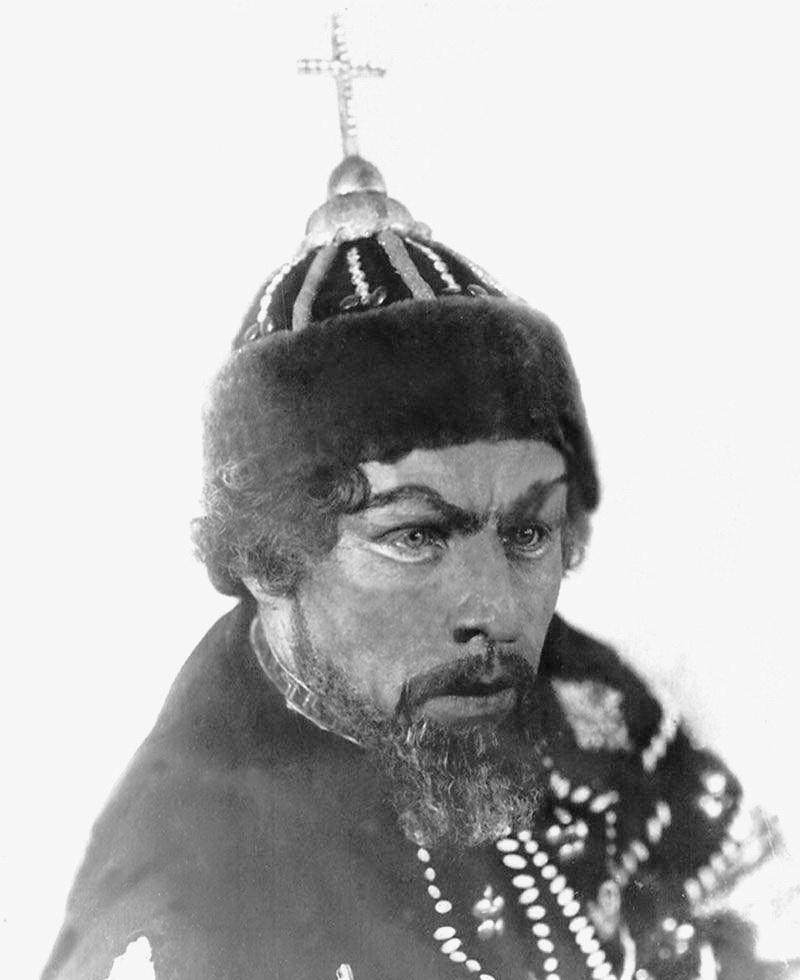 у ролі Бориса Годунова за однойменно. оперою, 1937 р.