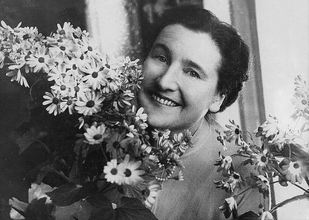 Друга дружина Віра Августівна Гмиря, 1951 р.