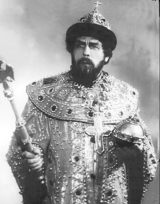 у ролі Бориса Годунова в однойменній опері