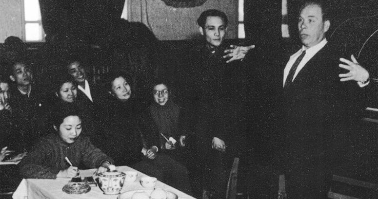 Лекція китайським колегам, Пекін, січень 1957 р.