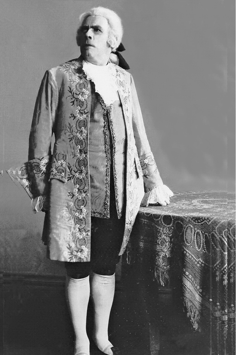 у ролі Сальє'рі з опери «Моцарт і Сальєрі» Миколи Римського-Корсакова