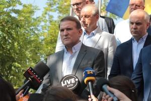 Суд рассматривает апелляцию на меру пресечения Медведчуку