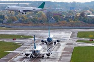Пасажиропотік українських аеропортів зріс на 65,7%