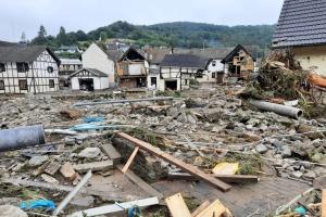 В Германии до сих пор неизвестна судьба 16 человек, пропавших во время наводнений