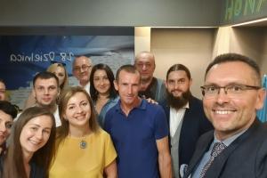 У Польщі генконсул зустрівся з активом української громади Рибніка