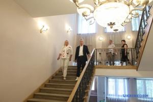 Ткаченко проверил, как реставрируют «Софию Киевскую»