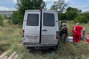 На Луганщині перекинулася маршрутка - п'ятеро постраждалих