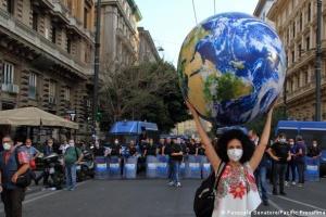 Страны G-20 не договорились по двум климатическим целям