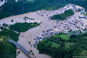 В районах бедствия в Германии вновь начались дожди, готовят эвакуацию