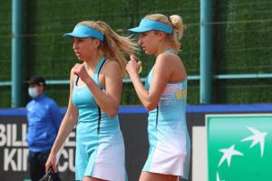 Тенісистки Кіченок пробилися до другого кола парного розряду Олімпіади-2020