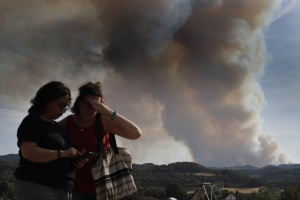 У кількох регіонах Іспанії вирують лісові пожежі