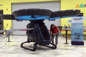 Первый летающий электромобиль испытали в Турции
