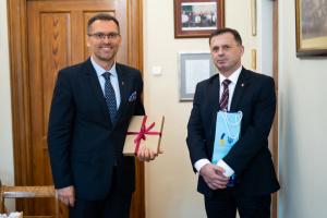 Генконсул обговорив потреби українських студентів Краківського економічного університету