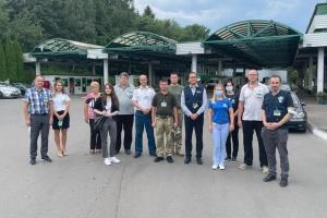 ВООЗ перевіряє пункти пропуску на заході України