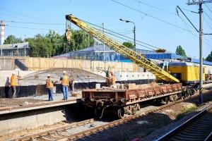 Впервые за 44 года: на Святошино откроют реконструированную железнодорожную платформу