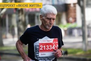 76-річний марафонець з Миколаєва розповів, чому віддає перевагу бігу