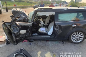 На Львівщині зіткнулися три авто, серед постраждалих є дитина