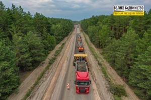 Біля Бердичева будують дворівневу розв'язку для маршруту Київ – Кишинів