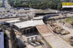 У Херсоні завершили спорудження частини шляхопроводу «ХБК-Таврійський»